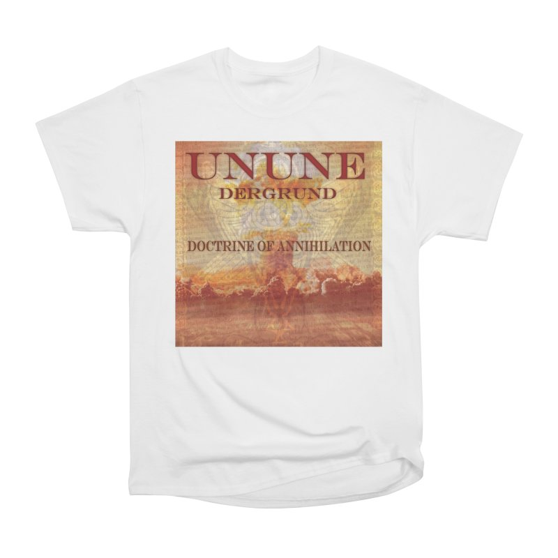 UNUNE - The Doctrine of Annihilation Men's Heavyweight T-Shirt by Venus Aeon (clothing)