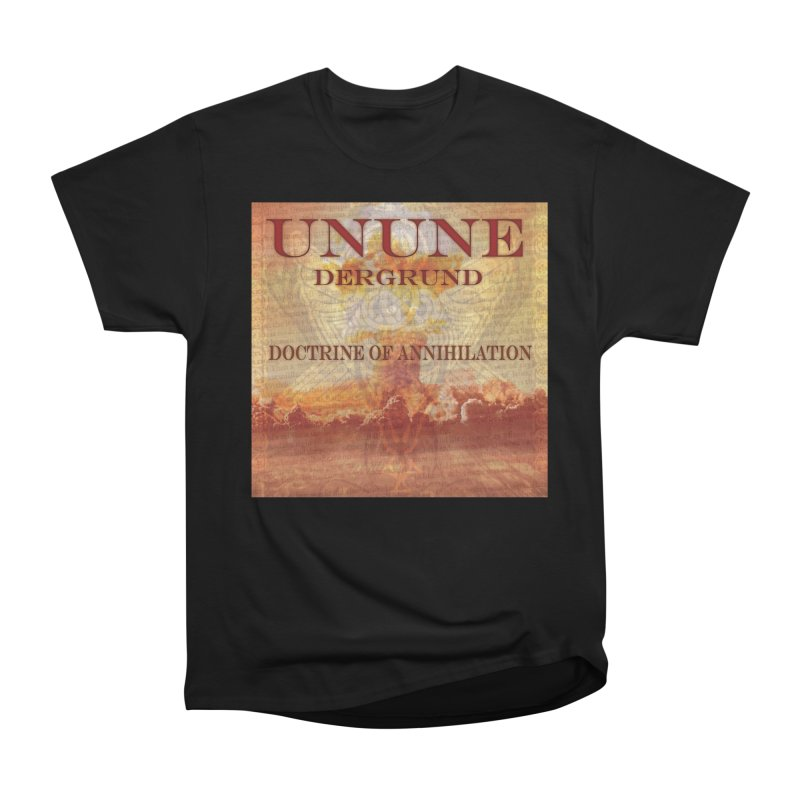 UNUNE - The Doctrine of Annihilation Women's Heavyweight Unisex T-Shirt by Venus Aeon (clothing)