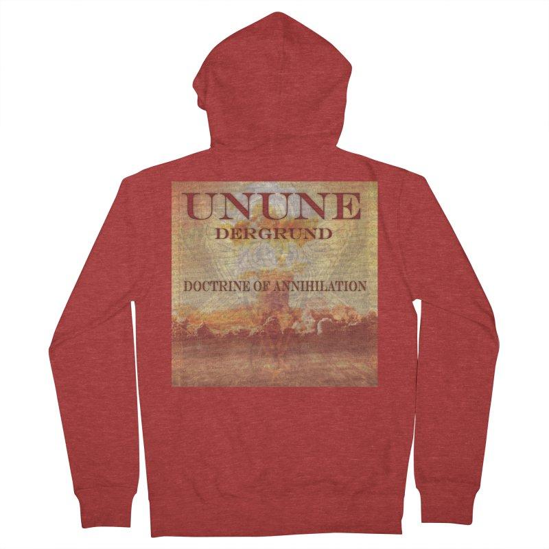 UNUNE - The Doctrine of Annihilation Men's Zip-Up Hoody by Venus Aeon (clothing)