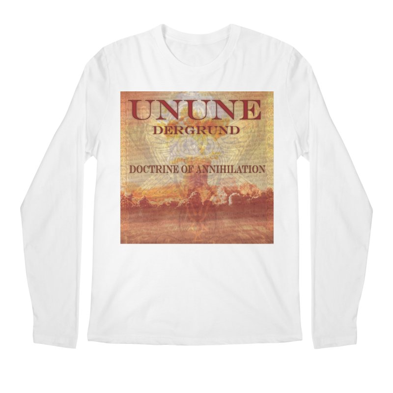 UNUNE - The Doctrine of Annihilation Men's Regular Longsleeve T-Shirt by Venus Aeon (clothing)