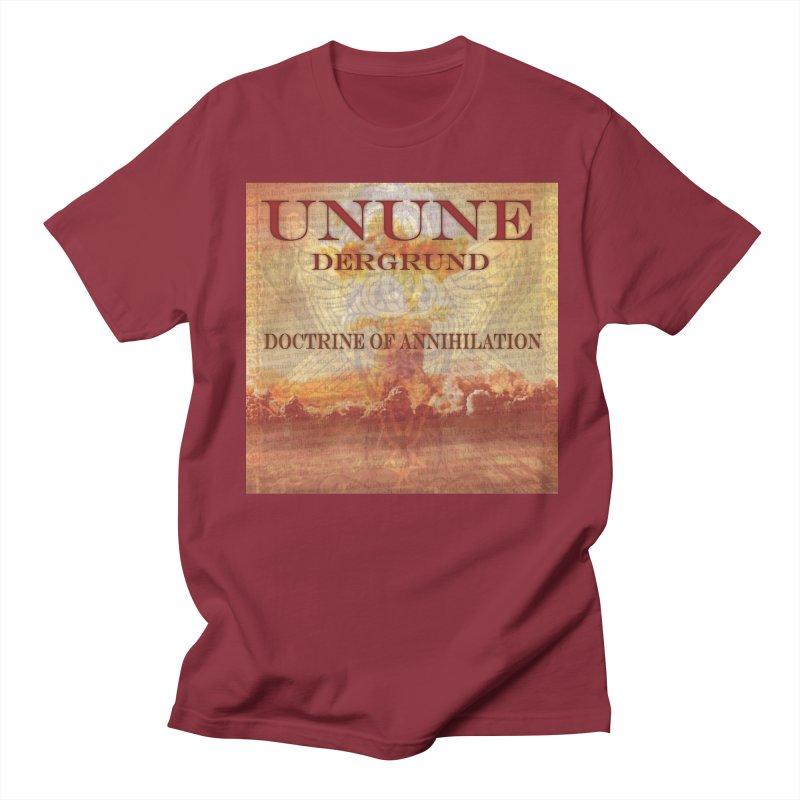UNUNE - The Doctrine of Annihilation Men's T-shirt by Venus Aeon (clothing)