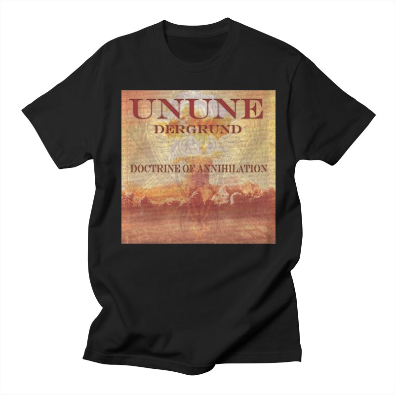 UNUNE - The Doctrine of Annihilation in Men's T-shirt Black by Venus Aeon (clothing)