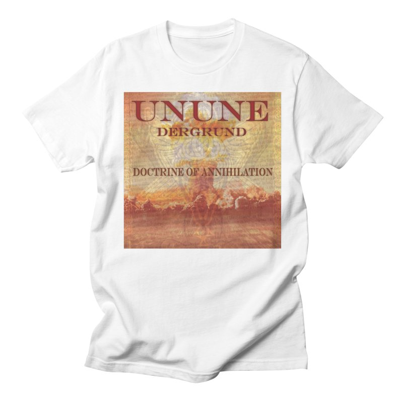 UNUNE - The Doctrine of Annihilation Men's Regular T-Shirt by Venus Aeon (clothing)