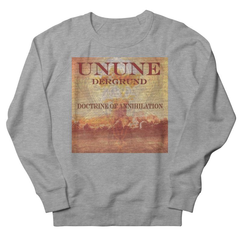 UNUNE - The Doctrine of Annihilation Women's French Terry Sweatshirt by Venus Aeon (clothing)