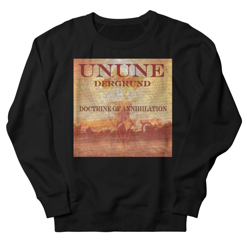 UNUNE - The Doctrine of Annihilation Men's French Terry Sweatshirt by Venus Aeon (clothing)