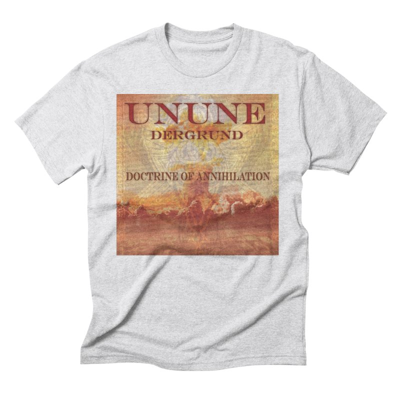 UNUNE - The Doctrine of Annihilation Men's Triblend T-Shirt by Venus Aeon (clothing)