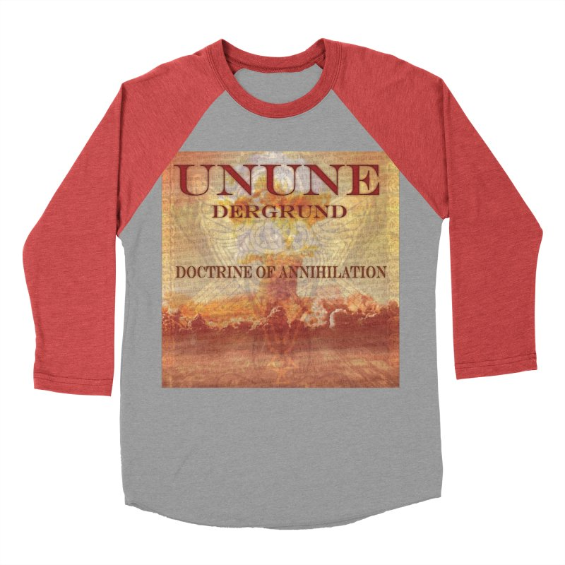 UNUNE - The Doctrine of Annihilation Women's Baseball Triblend Longsleeve T-Shirt by Venus Aeon (clothing)
