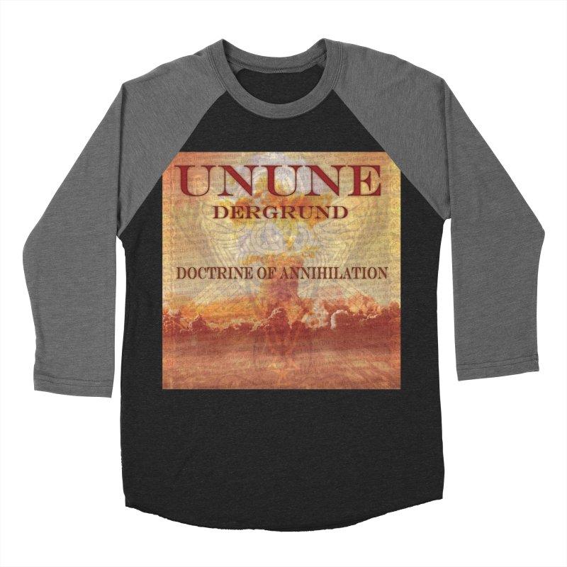 UNUNE - The Doctrine of Annihilation Women's Baseball Triblend T-Shirt by Venus Aeon (clothing)