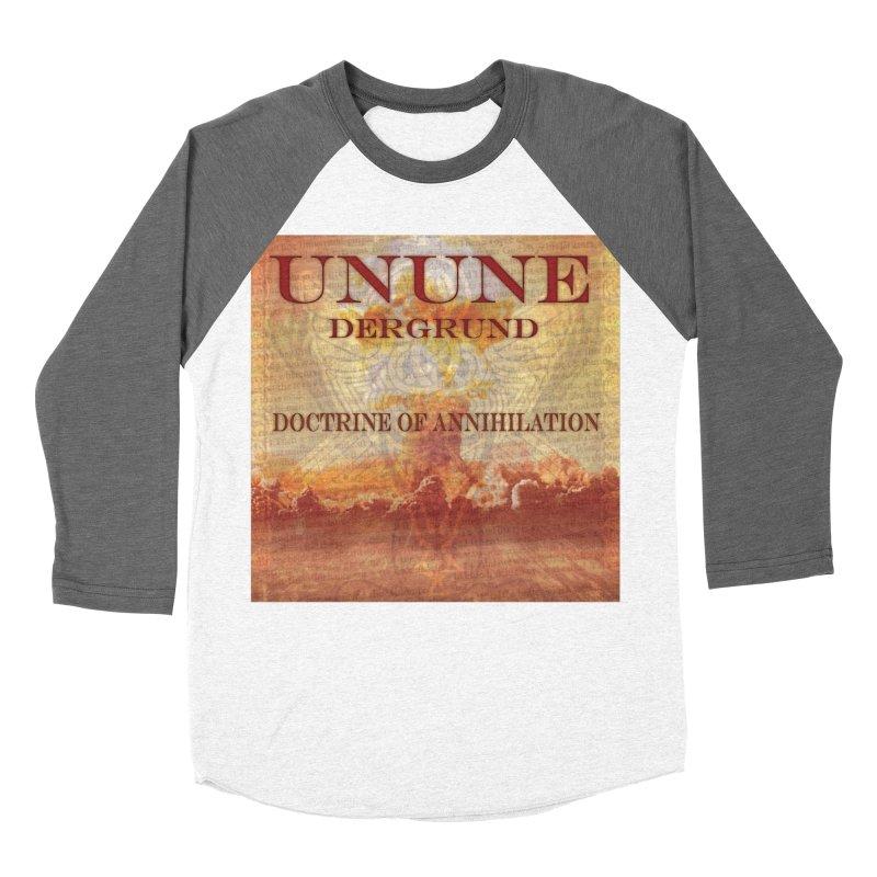 UNUNE - The Doctrine of Annihilation Men's Baseball Triblend T-Shirt by Venus Aeon (clothing)