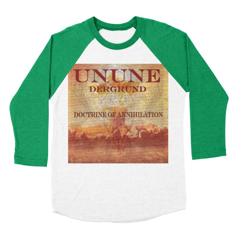 UNUNE - The Doctrine of Annihilation Men's Baseball Triblend T-Shirt by Venus Aeon (clothing)