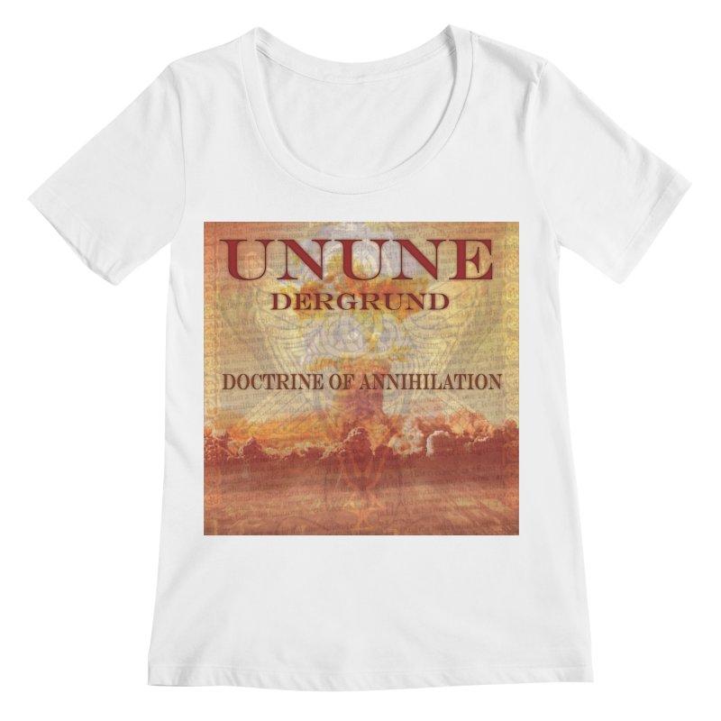 UNUNE - The Doctrine of Annihilation Women's Regular Scoop Neck by Venus Aeon (clothing)