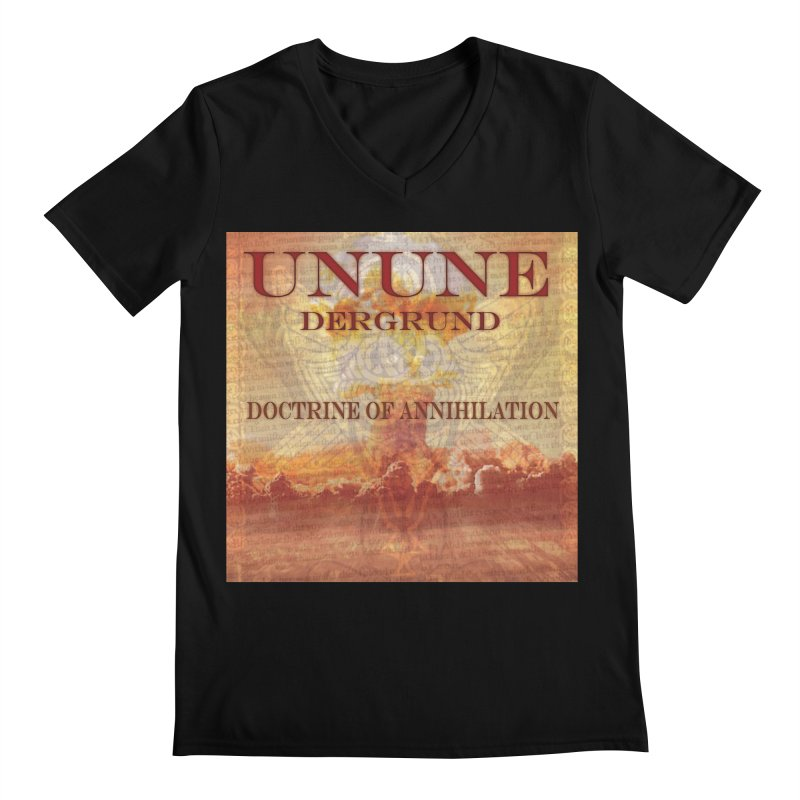 UNUNE - The Doctrine of Annihilation Men's Regular V-Neck by Venus Aeon (clothing)