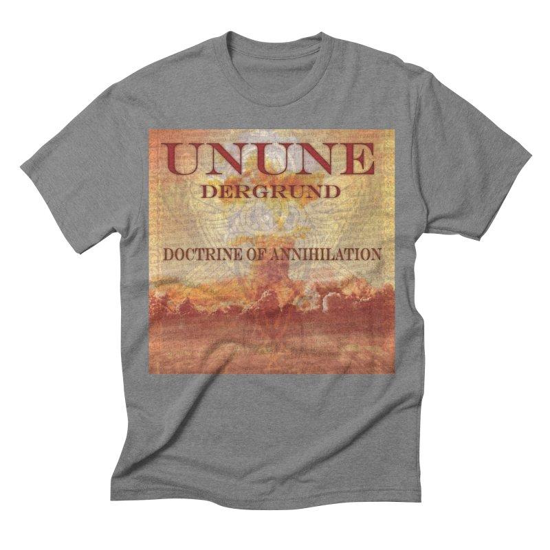 UNUNE - The Doctrine of Annihilation Men's Triblend T-shirt by Venus Aeon (clothing)