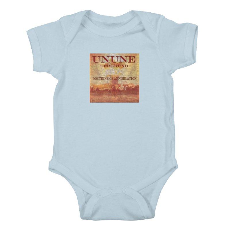 UNUNE - The Doctrine of Annihilation Kids Baby Bodysuit by Venus Aeon (clothing)