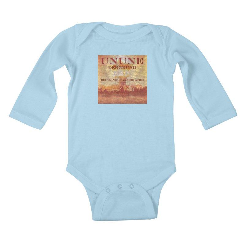 UNUNE - The Doctrine of Annihilation Kids Baby Longsleeve Bodysuit by Venus Aeon (clothing)