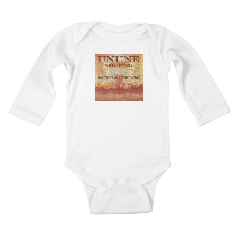 UNUNE - The Doctrine of Annihilation Kids Baby Longsleeve Bodysuit by Venus Aeon (clothing)