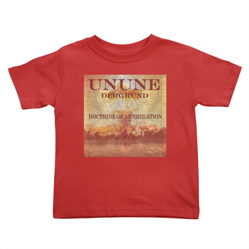 UNUNE - The Doctrine of Annihilation Kids Toddler T-Shirt by Venus Aeon (clothing)