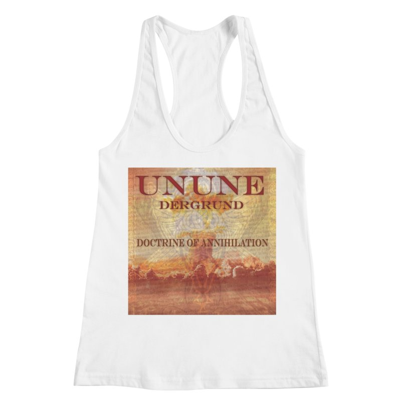 UNUNE - The Doctrine of Annihilation Women's Racerback Tank by Venus Aeon (clothing)