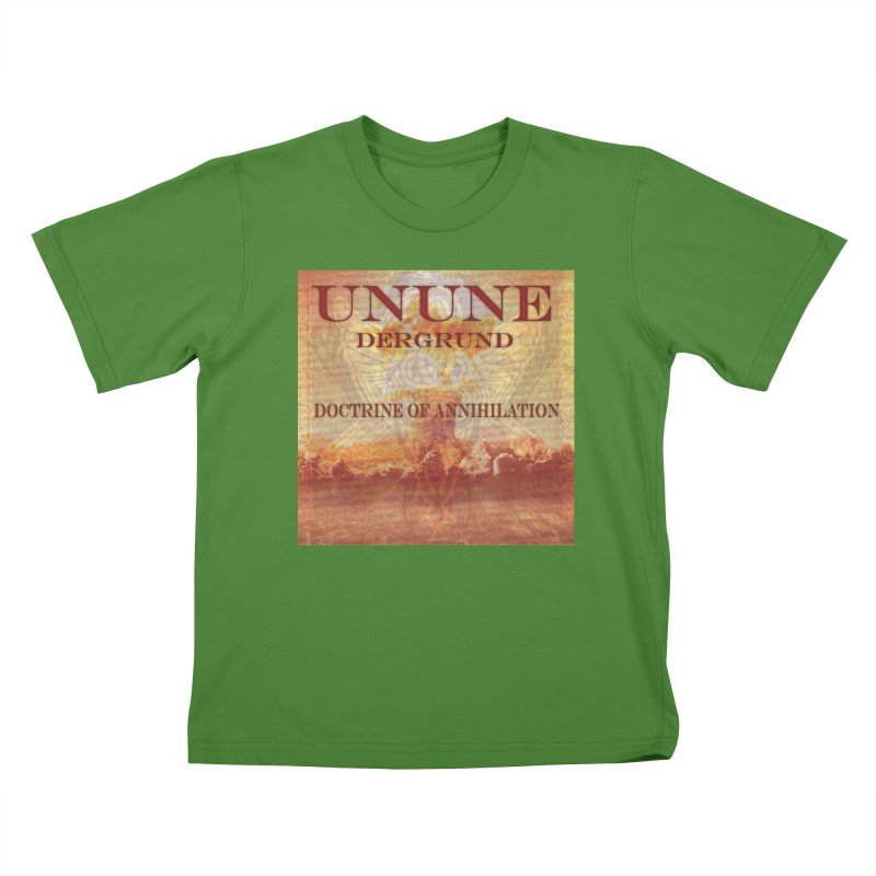 UNUNE - The Doctrine of Annihilation Kids T-shirt by Venus Aeon (clothing)