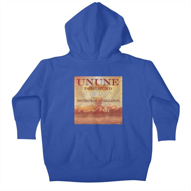 UNUNE - The Doctrine of Annihilation Kids Baby Zip-Up Hoody by Venus Aeon (clothing)
