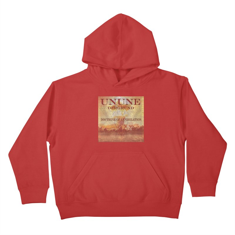 UNUNE - The Doctrine of Annihilation Kids Pullover Hoody by Venus Aeon (clothing)
