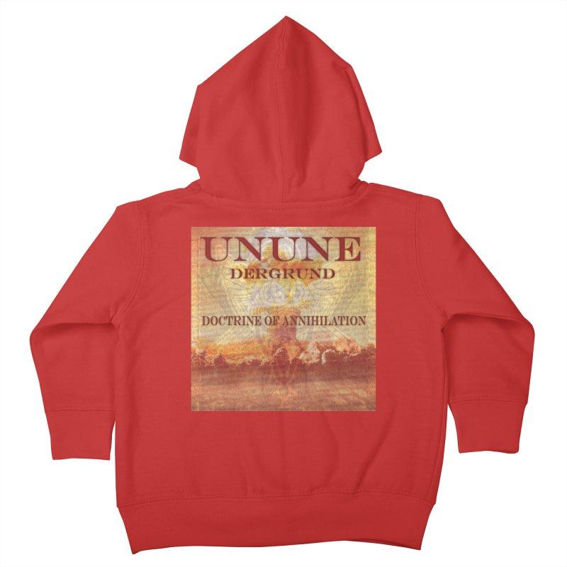 UNUNE - The Doctrine of Annihilation Kids Toddler Zip-Up Hoody by Venus Aeon (clothing)