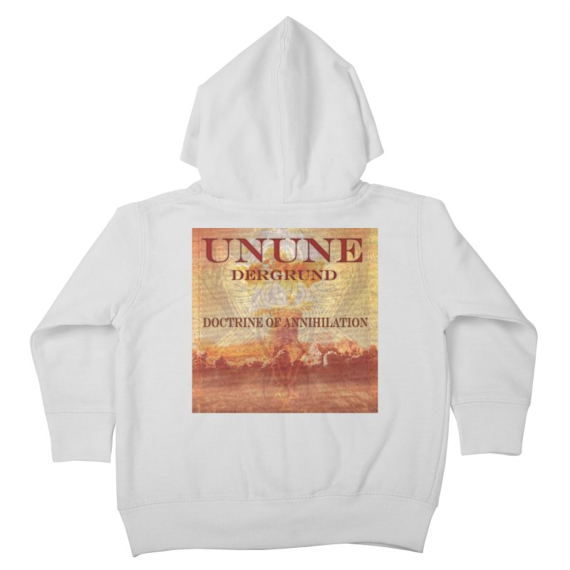 UNUNE - The Doctrine of Annihilation Kids Toddler Zip-Up Hoody by Venus Aeon (clothing)