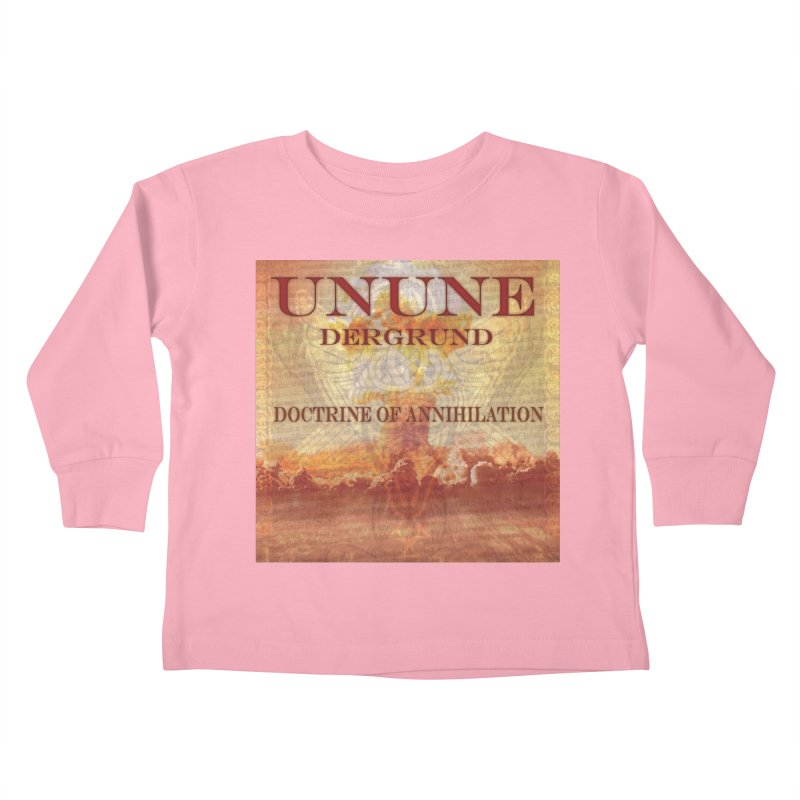 UNUNE - The Doctrine of Annihilation Kids Toddler Longsleeve T-Shirt by Venus Aeon (clothing)