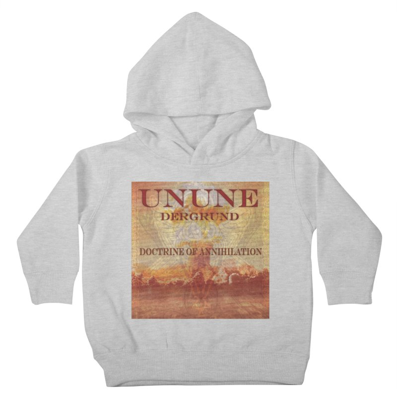 UNUNE - The Doctrine of Annihilation Kids Toddler Pullover Hoody by Venus Aeon (clothing)