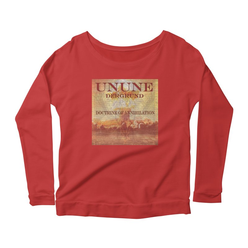 UNUNE - The Doctrine of Annihilation Women's Scoop Neck Longsleeve T-Shirt by Venus Aeon (clothing)
