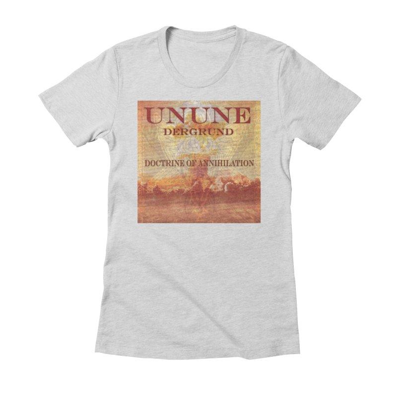 UNUNE - The Doctrine of Annihilation Women's T-Shirt by Venus Aeon (clothing)