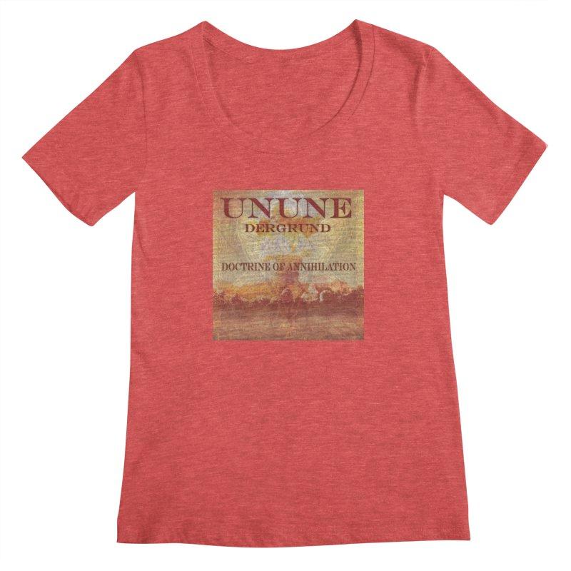 UNUNE - The Doctrine of Annihilation Women's Scoopneck by Venus Aeon (clothing)