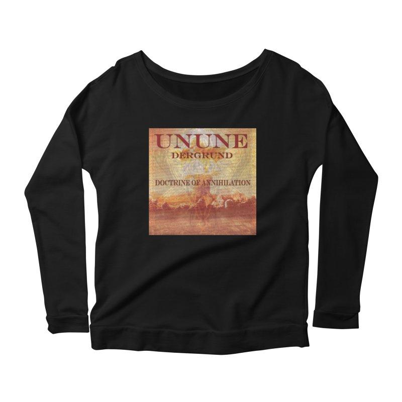 UNUNE - The Doctrine of Annihilation Women's Scoop Neck Longsleeve T-Shirt by Venus Aeon (clothing)