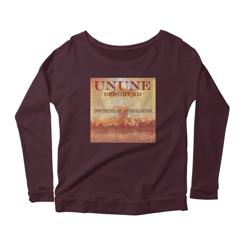 UNUNE - The Doctrine of Annihilation Women's Longsleeve Scoopneck  by Venus Aeon (clothing)