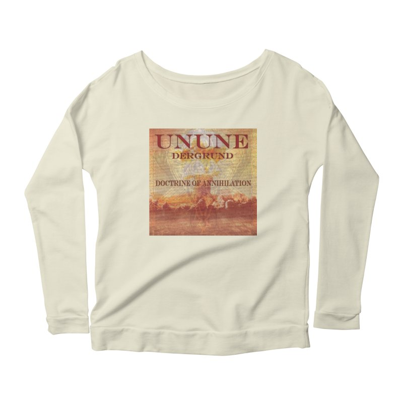 UNUNE - The Doctrine of Annihilation Women's Longsleeve Scoopneck  by Venus Aeon (clothing)