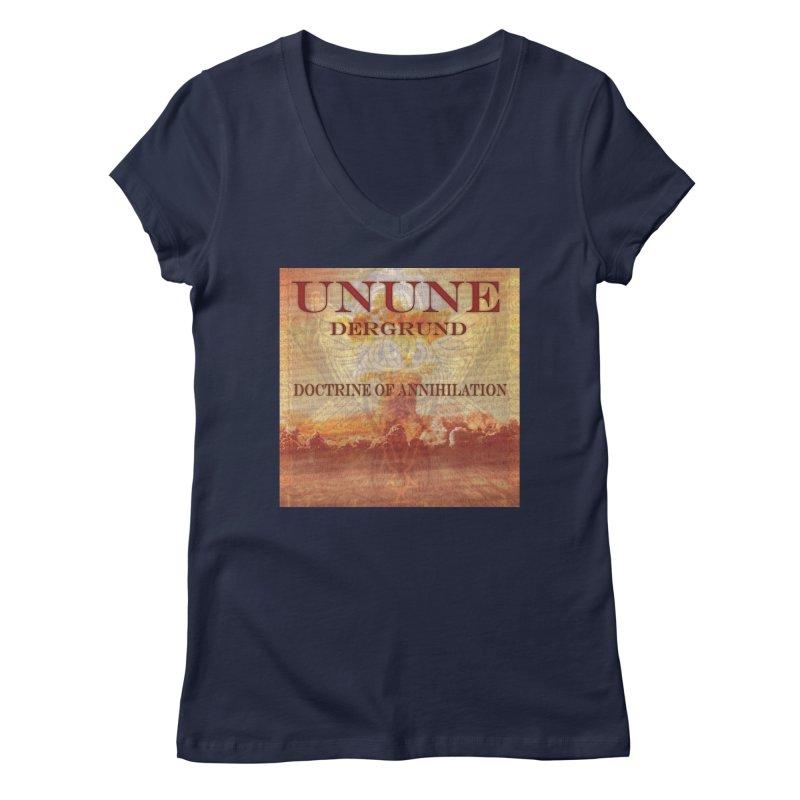UNUNE - The Doctrine of Annihilation Women's V-Neck by Venus Aeon (clothing)