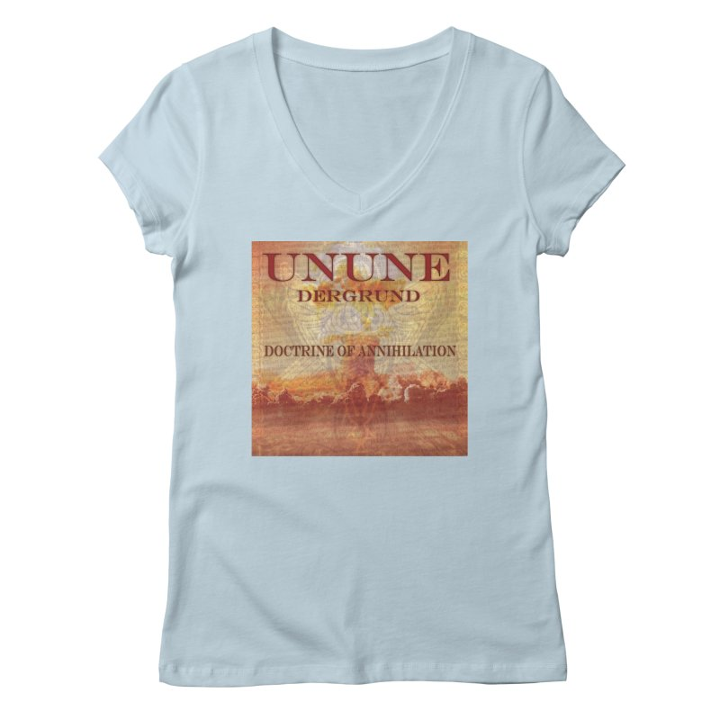 UNUNE - The Doctrine of Annihilation Women's V-Neck by Venus Aeon (clothing)