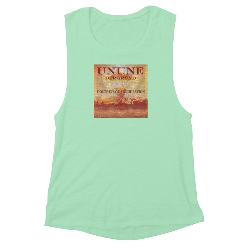 UNUNE - The Doctrine of Annihilation Women's Muscle Tank by Venus Aeon (clothing)