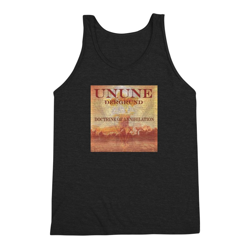 UNUNE - The Doctrine of Annihilation Men's Triblend Tank by Venus Aeon (clothing)