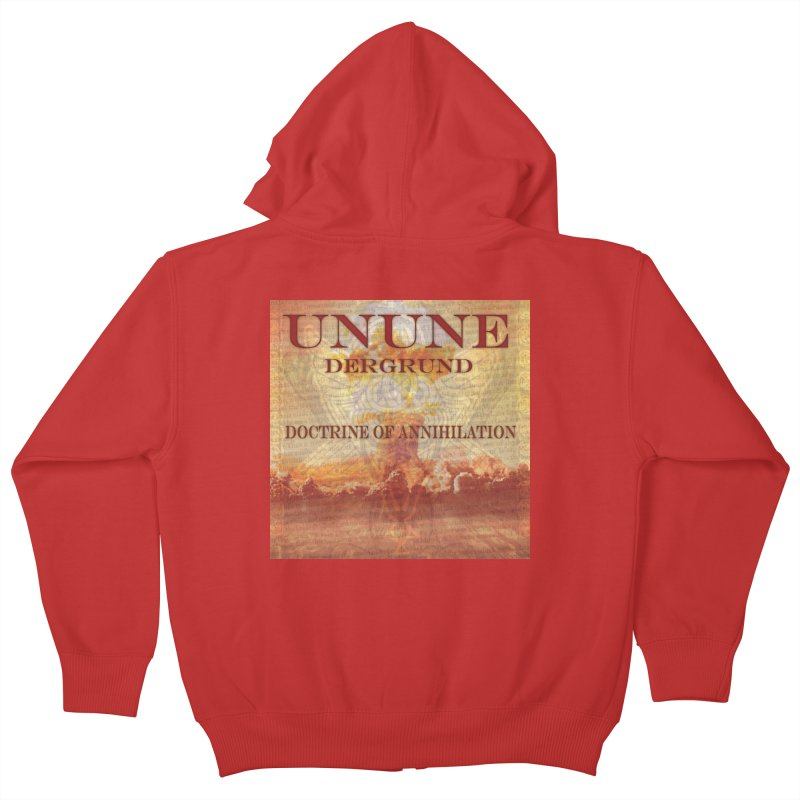 UNUNE - The Doctrine of Annihilation Kids Zip-Up Hoody by Venus Aeon (clothing)