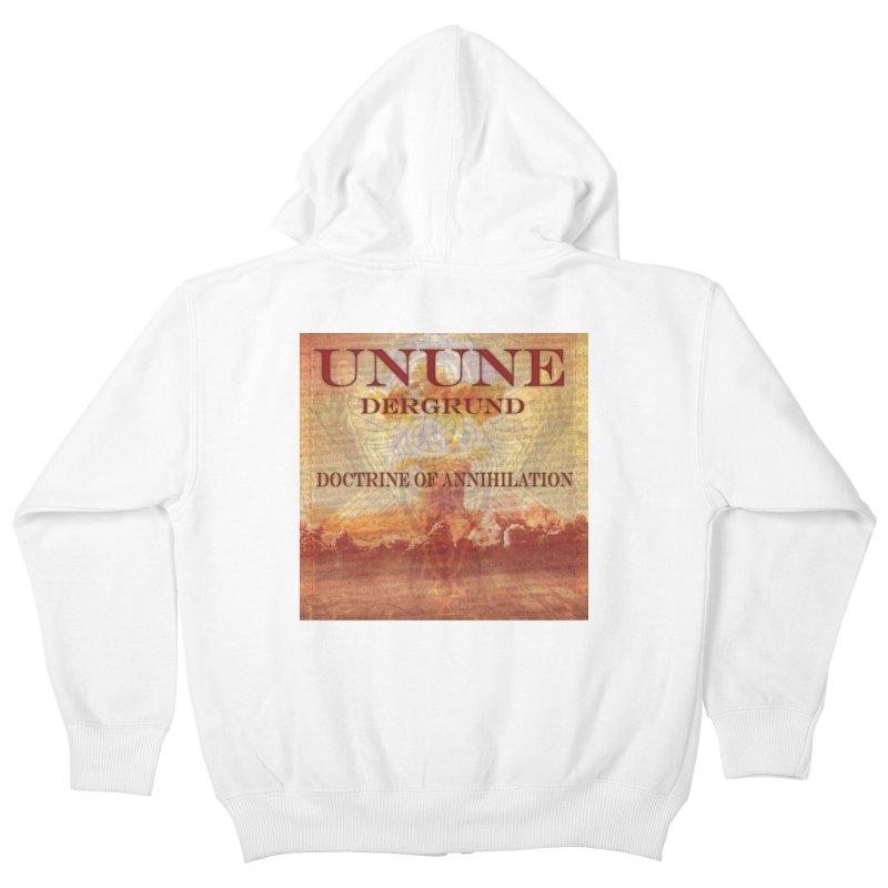 UNUNE - The Doctrine of Annihilation Kids Zip-Up Hoody by Venus Aeon (clothing)