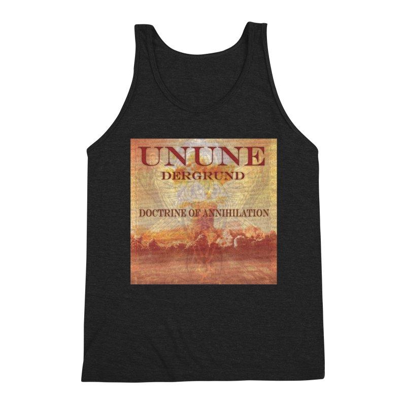 UNUNE - The Doctrine of Annihilation Men's Triblend Tank by Venus Aeon (clothing)