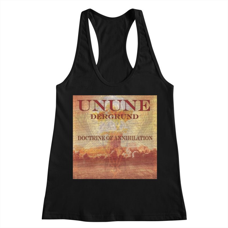 UNUNE - The Doctrine of Annihilation Women's Racerback Tank by Venus Aeon (clothing)