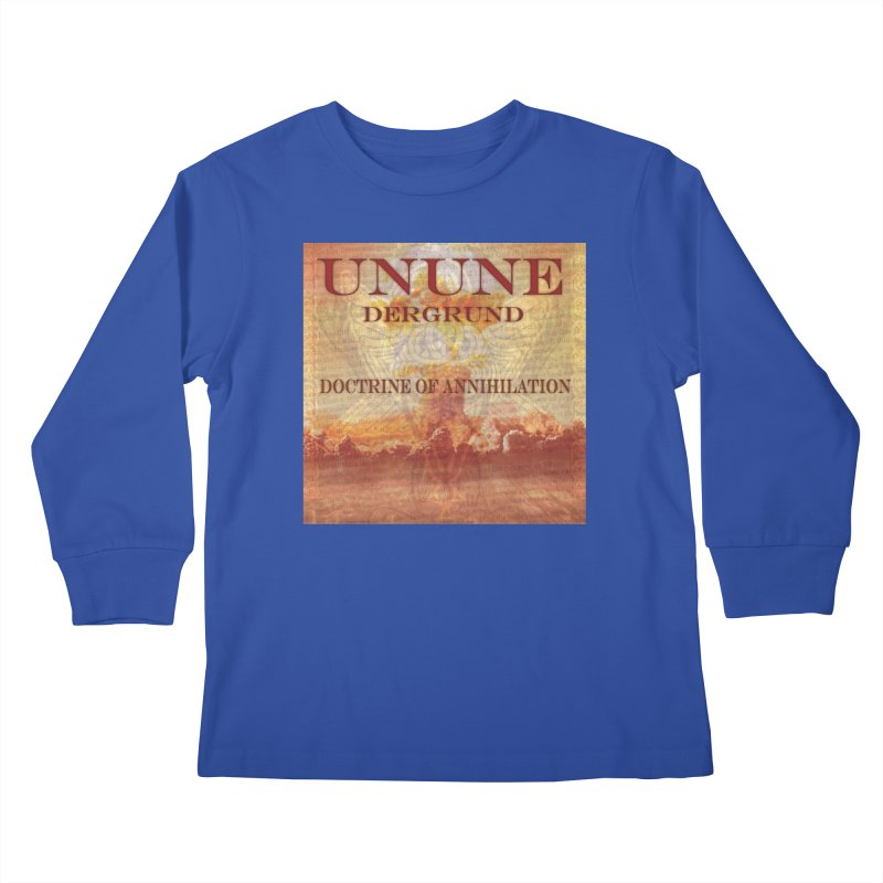 UNUNE - The Doctrine of Annihilation Kids Longsleeve T-Shirt by Venus Aeon (clothing)