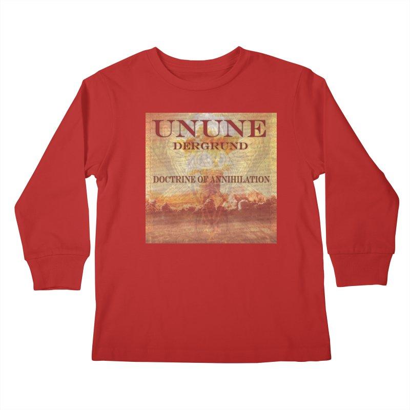 UNUNE - The Doctrine of Annihilation Kids Longsleeve T-Shirt by Venus Aeon (clothing)