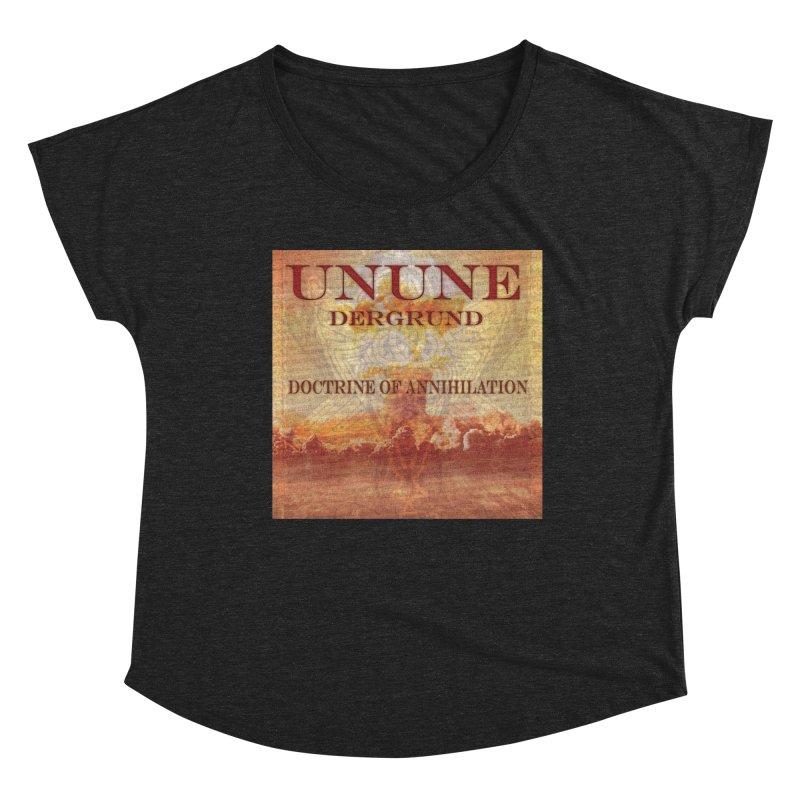 UNUNE - The Doctrine of Annihilation Women's Scoop Neck by Venus Aeon (clothing)