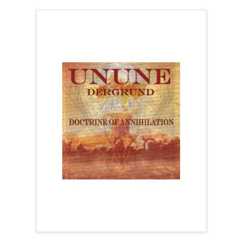 UNUNE - The Doctrine of Annihilation Home Fine Art Print by Venus Aeon (clothing)