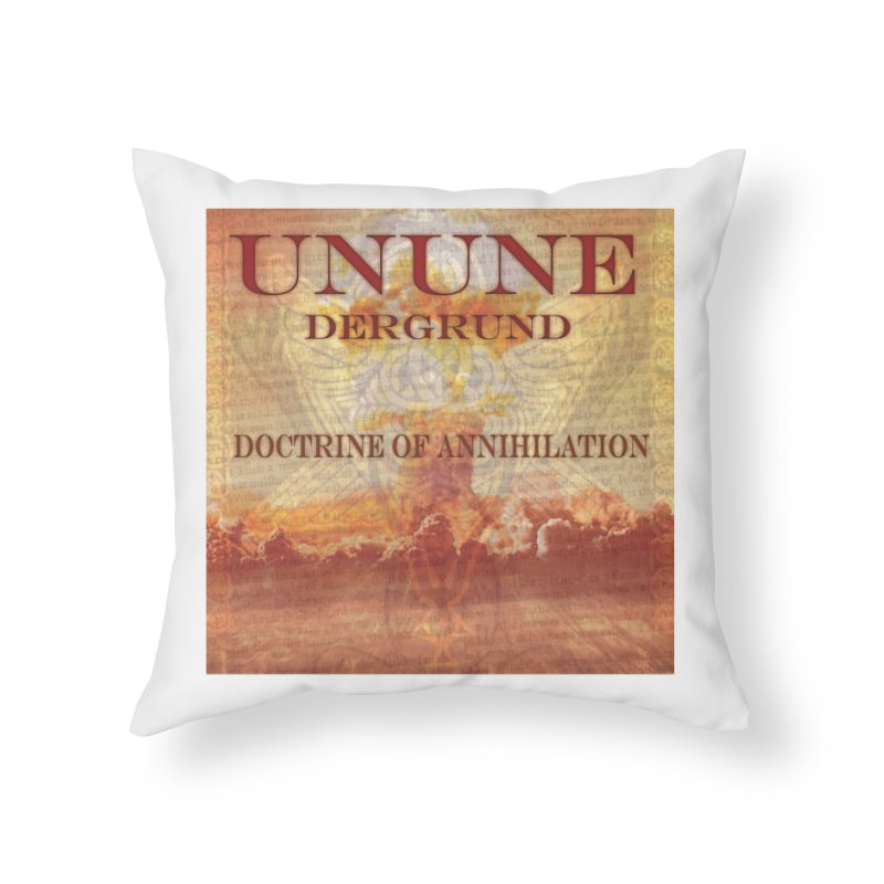 UNUNE - The Doctrine of Annihilation Home Throw Pillow by Venus Aeon (clothing)
