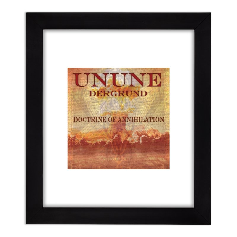 UNUNE - The Doctrine of Annihilation Home Framed Fine Art Print by Venus Aeon (clothing)
