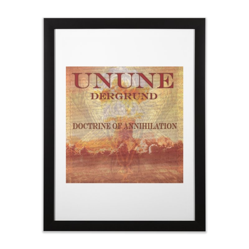 UNUNE - The Doctrine of Annihilation Home Framed Fine Art Print by Venus Aeon (clothing)